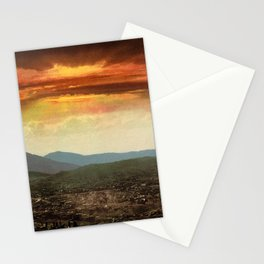 Sunset from Cripple Creek, Colorado, ca. 1899 Stationery Cards