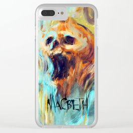 Macbeth Poster - Original Art by Kyle T. Webster Clear iPhone Case