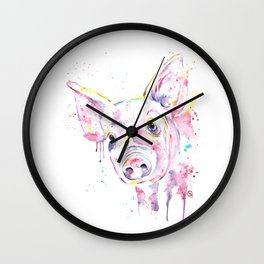 Pig - This Little Piggy Wall Clock