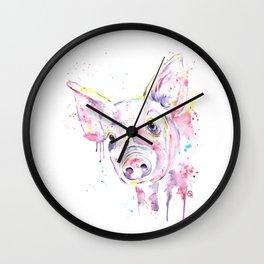 Pig - This Little Piggy Wall Clock