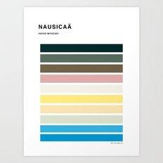 The colors of - Nausicaa Art Print
