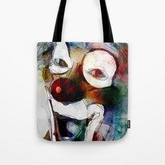 Circus Clown Tote Bag