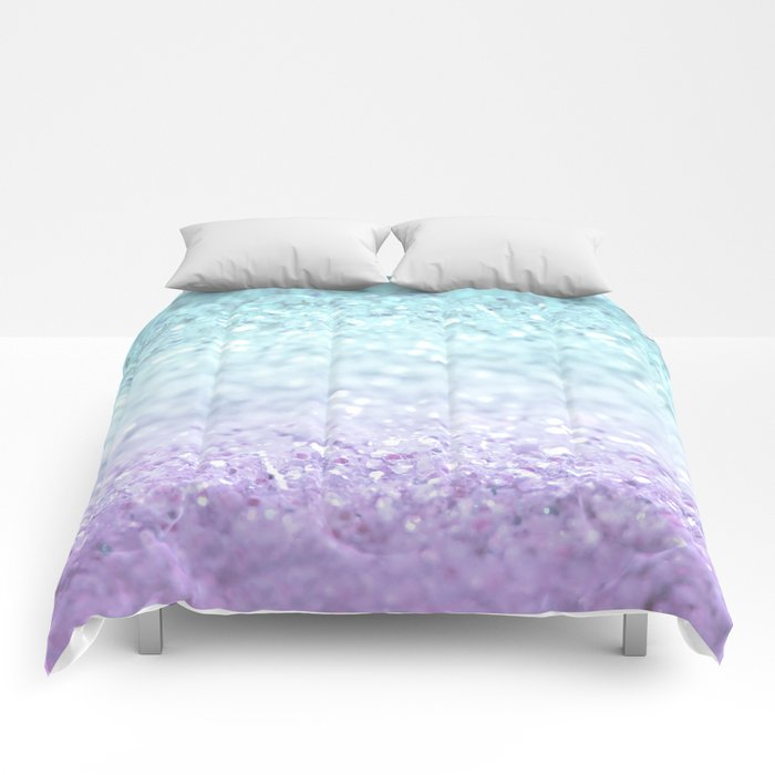 MERMAIDIANS AQUA PURPLE Comforters
