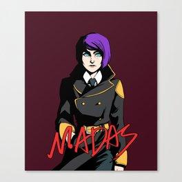 MADAS TITLECARD (Vara) Canvas Print