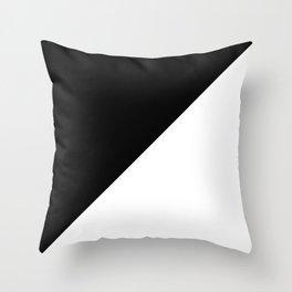 BLACK/WHITE Throw Pillow