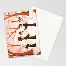 Wedding scene Stationery Cards