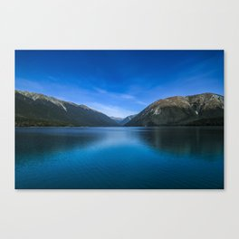 World's Clearest Lake Canvas Print