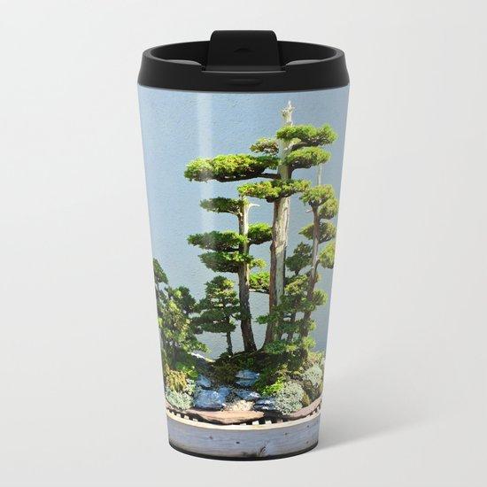 Forest Island Metal Travel Mug