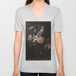 Flower Vase Unisex V-Neck