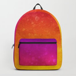 Vivid Ombre Watercolor 11 Backpack