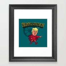 Trumpelstilskin Framed Art Print