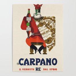 Vintage Armando Testa Carpano Vermouth Ad Print No. 1 Poster