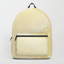 Kapalua Beach sparkling golden sand and seafoam Maui Hawaii Backpack