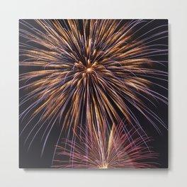 Fireworks Fantasy Metal Print