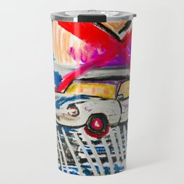 British Triumph Spitfire circa.1965 (Abstract#2) Travel Mug