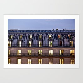 Paris Living Art Print