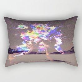 Mindful Explosion Rectangular Pillow