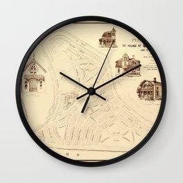 Marthas Vineyard 1866 Wall Clock