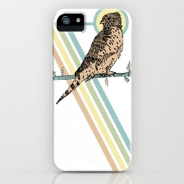 Mauritius Kestrel Falcon iPhone Case