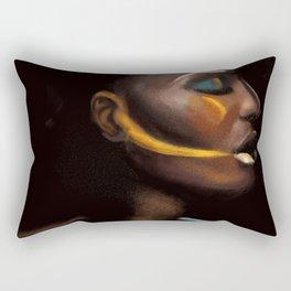 Fade to black Rectangular Pillow
