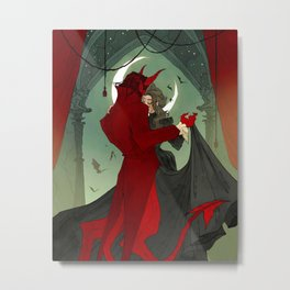 Dance with the Devil Metal Print