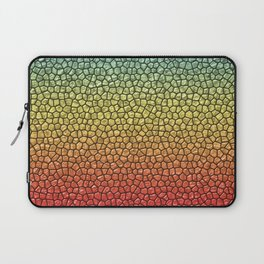 Blue/Gold/Red Reptile Skin Laptop Sleeve