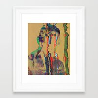 tchmo Framed Art Prints featuring Untitled 20140627w by tchmo