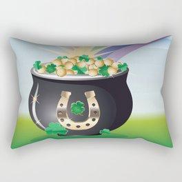 Pot of gold Rectangular Pillow