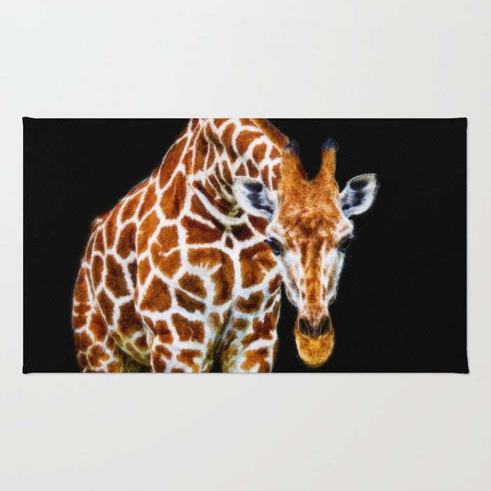 Graffic Giraffe Rug