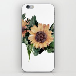 Sunfower II iPhone Skin