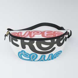 Super Heroes Club Fanny Pack