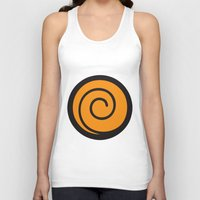 naruto Tank Tops featuring Naruto Suit by bivisual