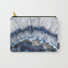 Cold Ice Agate Carry-All Pouch