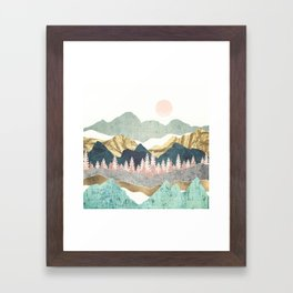 Summer Vista Framed Art Print