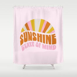 sunshine state of mind, type Shower Curtain