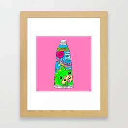 Toothpaste Framed Art Print