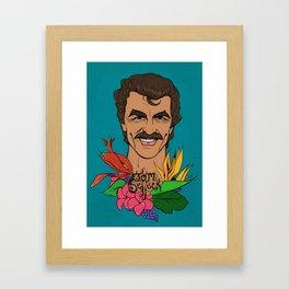 Mr. Selleck Framed Art Print
