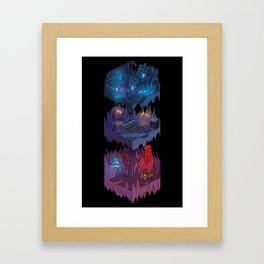 Isometric Coelary - 2 Framed Art Print