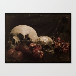 The Ripened Wisdom of the Dead Canvas Print