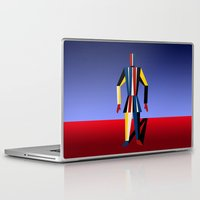 soldier Laptop & iPad Skins featuring TIN SOLDIER by THE USUAL DESIGNERS