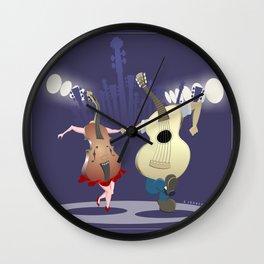Fast Dance Wall Clock