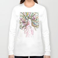 venus Long Sleeve T-shirts featuring venus by Beth Jorgensen