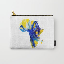 Africa Map 4 Carry-All Pouch