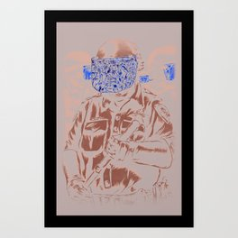 Spray Cop Volume Two Art Print