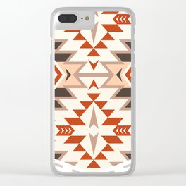Tribal Pocket Design #3 Clear iPhone Case