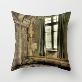 The Lone Shoes… Throw Pillow