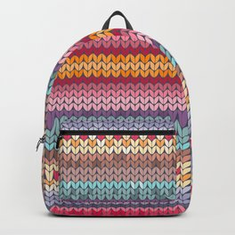 knitting pattern Backpack