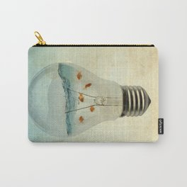 blue sea thinking Carry-All Pouch