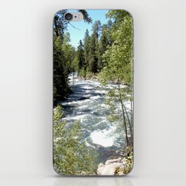 Camping, Hiking, and Kayaking on Vallecito Creek iPhone Skin
