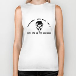 Sleep well I'll most likely kill you in the morning Unisex Men's Womens shirt, Biker Tank